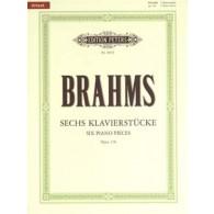 BRAHMS J. KLAVIERSTUCKE OP 118 PIANO