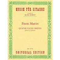 MARTIN F. PIECES BREVES GUITARE