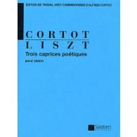 LISZT F. CAPRICES POETIQUES PIANO