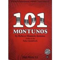 MAULEON-SANTANA E. 101 MONTUNOS PIANO