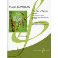 ROMBERG M. THE TALE OF TALIESIN SAXO ALTO PIANO