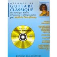 DUCHATEAU V. METHODE GUITARE CLASSIQUE AVEC TABLATURE + CD