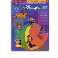 DISNEY EASY PIANO PLAY ALONG VOL 15 BEST
