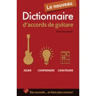 PAIN-HERMIER O. DICTIONNAIRE D'ACCORDS DE GUITARE