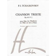 TCHAIKOVSKY P.I. CHANSON TRISTE OP 40 N°2 FLUTE