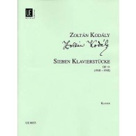 KODALY Z. SEVEN PIECES OP 11 PIANO