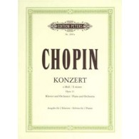 CHOPIN F. CONCERTO N°2 OP 21 2 PIANOS