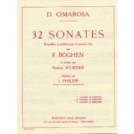 CIMAROSA D. 32 SONATES VOL 2 PIANO