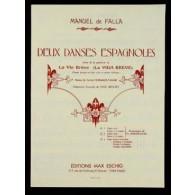 DE FALLA M. DANSE ESPAGNOLE N°2 PIANO