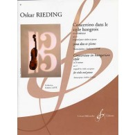 RIEDING O. CONCERTINO OPUS 21 ALTO