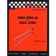 FRANCOIS J. SING SING 86 ET RIGO AFRO BATTERIE