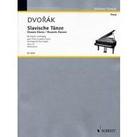 DVORAK A. DANSES SLAVES OP 72 VOL 1 PIANO A 4 MAINS