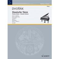 DVORAK A. DANSES SLAVES OP 72 VOL 2 PIANO A 4 MAINS