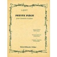 QUET L. PETITE PIECE CLARINETTE