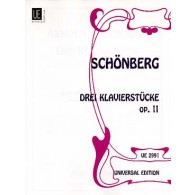 SCHOENBERG A. KLAVIERSTUCK OP 11  PIANO