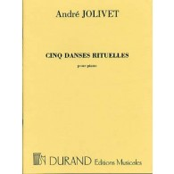 JOLIVET A. DANSES RITUELLES PIANO