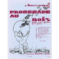 GRETCHANINOFF A. PROMENADE AU BOIS PIANO