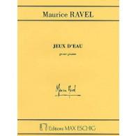 RAVEL M. JEUX D'EAU PIANO