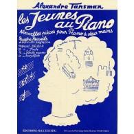 TANSMAN A. LES JEUNES AU PIANO RECUEIL 3 PIANO