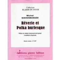 NIERENBERGER M. REVERIE ET POLKA BURLESQUE HAUTBOIS