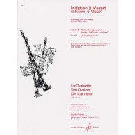 MOZART W.A. INITIATION VOL 3 CLARINETTE