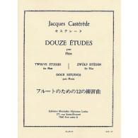 CASTEREDE J. ETUDES FLUTE
