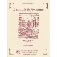 HULOT M. L'EAU DE LA FONTAINE COR EN FA