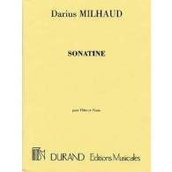MILHAUD D. SONATINE OP 76 FLUTE