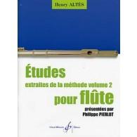 ALTES H. ETUDES FLUTE