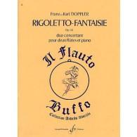DOPPLER F./DOPPLER K. RIGOLETTO-FANTAISIE OP 38 2 FLUTES