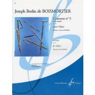 BOISMORTIER J.B. CONCERTO N°5 FLUTES