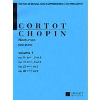 CHOPIN F. NOCTURNES VOL 1 PIANO