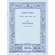 FAURE G. BARCAROLLE OP 44 N°4 PIANO