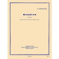 MESSIAEN O. RONDEAU PIANO