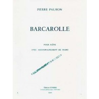 PAUBON P. BARCAROLLE FLUTE
