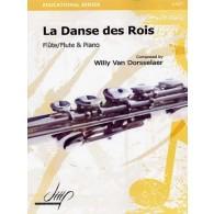 VAN DORSSELAER W. LA DANSE DES ROIS FLUTE