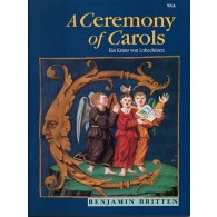 BRITTEN B. A CEREMONY OF CAROLS SSA