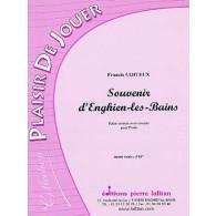 COITEUX F. SOUVENIR D'ENGHIEN -LES-BAINS PIANO