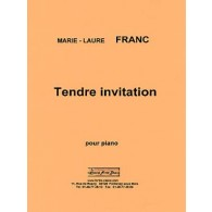 FRANC M.L. TENDRE INVITATION PIANO