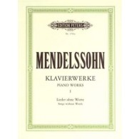MENDELSSOHN F. OEUVRES COMPLETES VOL 1 PIANO