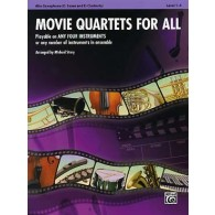 MOVIE QUARTETS FOR ALL SAXOPHONES ALTO