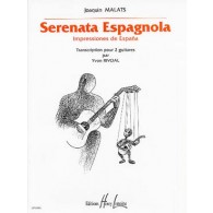 MALATS J. SERENATA ESPAGNOLA GUITARES