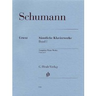 SCHUMANN R. OEUVRES COMPLETES VOL 1 PIANO