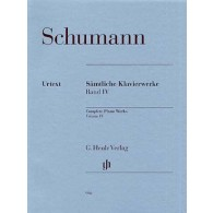 SCHUMANN R. OEUVRES COMPLETES VOL 4 PIANO