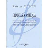 ESCAICH T. PHANTASIA ANTIQUA ENSEMBLE SAXOPHONES