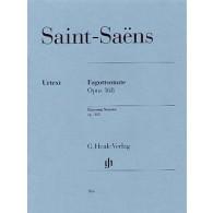 SAINT-SAENS C. SONATE OP 168 BASSON