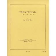 BOUTRY R. TROMPETUNIA TROMPETTE UT OU SIB PIANO