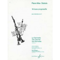 DUBOIS P.M. DUOS PROGRESSIFS CLARINETTES