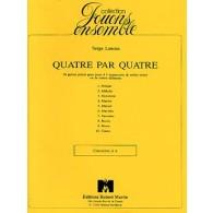 LANCEN S. QUATRE A QUATRE CLARINETTES