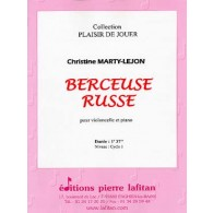 MARTY-LEJON C. BERCEUSE RUSSE VIOLONCELLE